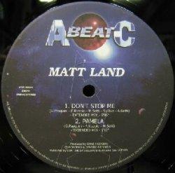 画像1: MATT LAND / DON'T STOP ME (VEJT 89149) EEE20