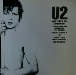 画像1: U2 / New Year's Day (Long Version) 未 YYY47-1046-4-10