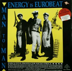 画像1: Man To Man / Energy Is Eurobeat / I Need A Man 未 B4145