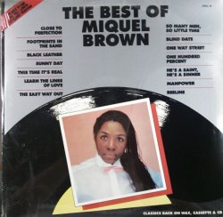 画像1: Miquel Brown ‎/ The Best Of Miquel Brown  (2LP) ラスト 未