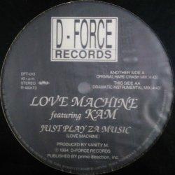 画像1: Love Machine featuring Kam / Just Play Za Music 残少 B4177 未
