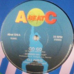 画像1: $$ DJ NRG / GO GO! (Abeat 1216) 穴