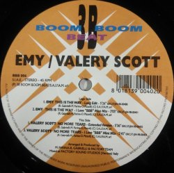 画像1: $$ Emy / This Is The Way * Valery Scott / No More Tears (BBB 006) EEE20+