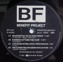 画像1: $$ BF 3 ( Benefit Project 3 ) King & Queen / King And Queen (BFP-003) Remix Y4