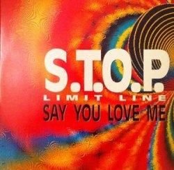 画像1: %% S.T.O.P. Limit Line / Say You Love Me (TRD 1175) EEE2+
