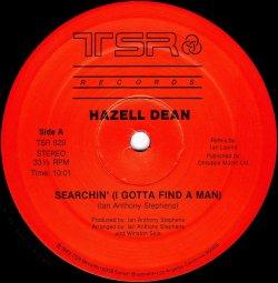 画像1: $$ Hazell Dean / Searchin' (I Gotta Find A Man) (Original & Special Extended Re-Mix Versions) TSR 829 YYY245-2785-10-11