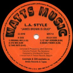 画像1: %% L.A. Style / James Brown Is Dead ( WR714 ) YYY237-3270-8-8