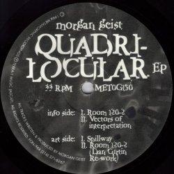 画像1: $$ Morgan Geist / Quadri-Locular EP  (MET0G150) YYY239-3297-30-31