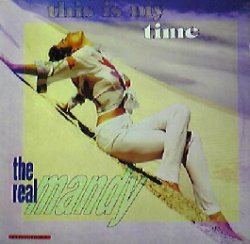 画像1: $$ THE REAL MANDY / THIS IS MY TIME (HE 154) PS難 EEE5?