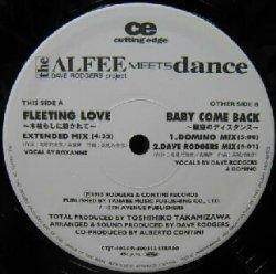 画像1: $ DAVE RODGERS project the ALFEE MEETS dance / FLEETING LOVE (CTJT 6025) YYY65-1346-20-119