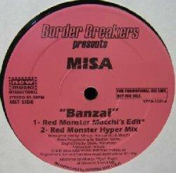 画像1: MISA / BANZAI (Red Monster Mix) YYY37-801-5-12