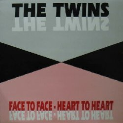 画像1: %% THE TWINS / FACE TO FACE-HEART TO HEART YYY0-453-3-3美