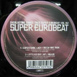 画像1: $ SUPER EUROBEAT VOL.157 (VEJT-89196) EEE21