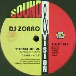 画像1: DJ ZORRO / TEQUILA / VAMOS (S&V 1513)