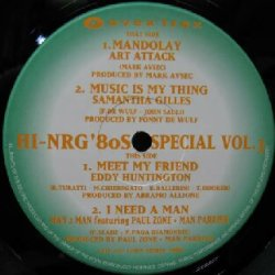 画像1: %% HI-NRG '80S SPECIAL VOL. 3 (AVJT-2357) 緑 MANDOLAY * MUSIC IS MY THING YYY28-569-7-54