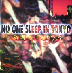 画像1: $ EDO BOYS / NO ONE SLEEP IN TOKYO (DELTA 1063) 10?