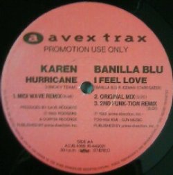 画像1: KAREN  / HURRICANE MIDI WAVE REMIX 12インチ限定盤!YYY29-593-7-100
