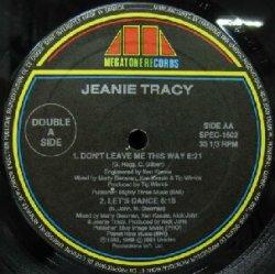 画像1: JEANIE TRACY / DON'T LEAVE ME THIS WAY