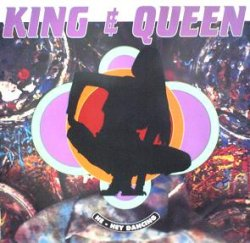 画像1: $$ KING&QUEEN / HE-HEY DANCING (DOUB 1012) EEE10+