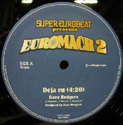 画像1: $ DAVE RODGERS / DEJA VU * STATION TO STATION / DERRECK SIMONS (VEJT-89056) Euromach 2 (Blue Version) YYY63-1332-10-39