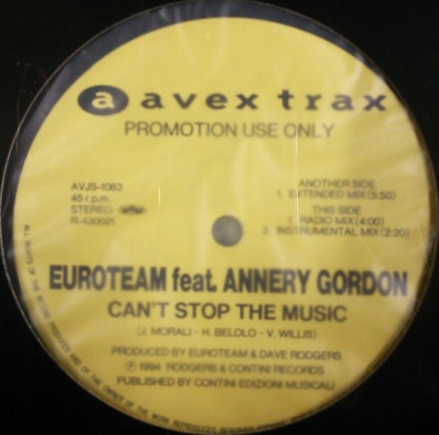 Euroteam featuring Annalise - Call Me