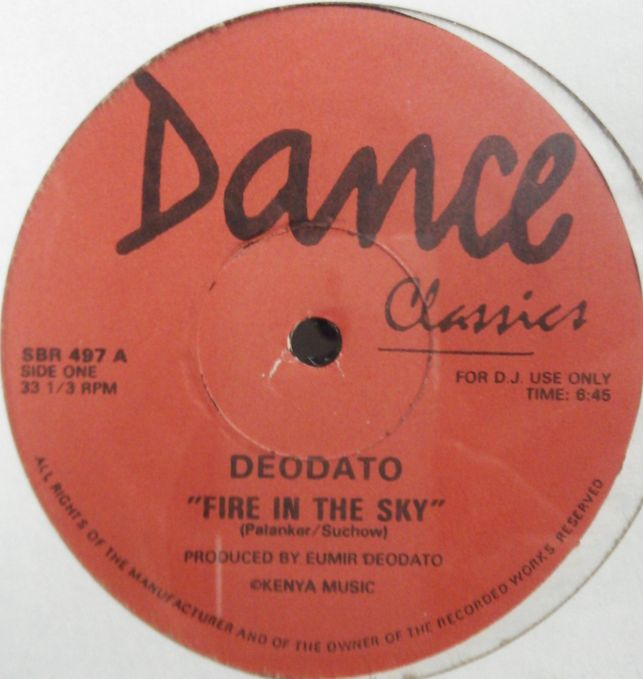 Deodato SOS Fire In The Sky