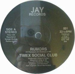 画像1: Timex Social Club / Rumors (US) 絵ジャケットなし