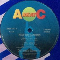 画像1: $ Derreck Simons / Keep On Dancing / Mr. Lady / Love Gun / Jealousy Kills (ABeat 1217) EEE20+