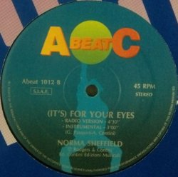 画像1: $ Norma Sheffield ‎/ It's For Your Eyes (ABeat 1012) 穴 EEE 0