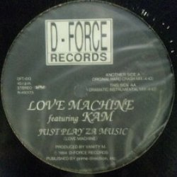 画像1: LOVE MACHINE feat. KAM / JUST PLAY ZA MUSIC 未