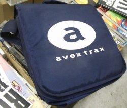 画像1: avex trax レコードバッグ (約30枚収納) Y6