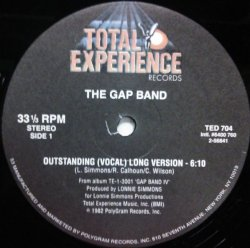 画像1: $ The Gap Band / Outstanding  (TED 704) YYY265-3061-2-2