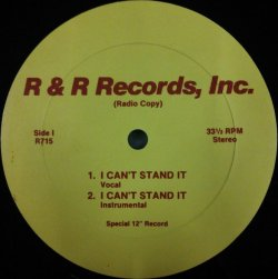 画像1: Captain Rapp / Bad Times (I Can't Stand It) 未 B4250