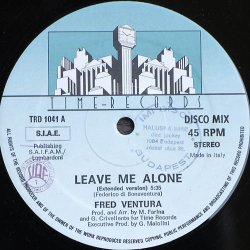 画像1: $ Fred Ventura / Leave Me Alone (TRD 1041)  穴 EEE2