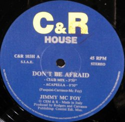 画像1: $ Jimmy Mc Foy / Don't Be Afraid (C&R 103H) EEE21