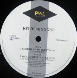 画像1: $ Kylie Minogue / I Should Be So Lucky (VEJT-89044) Y & Co. '99 Edit YYY0-400-1-1+1