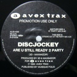 画像1: $$ DISCJOCKEY / ARE U STILL READY 2 PARTY (AVJS-1056) YYY270-3153-8-9