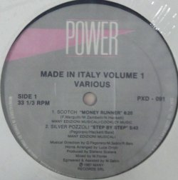 画像1: $ Made In Italy Volume 1 Silver Pozzoli / Step By Step (PXD 091) 4曲入