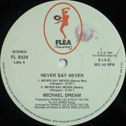画像1: $$ Michael Dream / Never Say Never (FL 8528) EEE2+