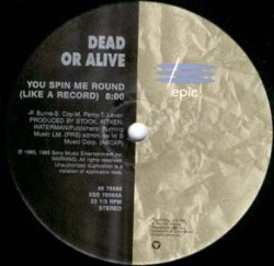 画像1: $  Dead Or Alive / You Spin Me Round (Like A Record) / Brand New Lover (49 78588) YYY263-3017-10-30+