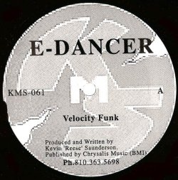 画像1: $$ E-Dancer / Velocity Funk (KMS-061) YYY287-3409-4-4