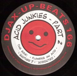 画像1: $$ Acid Junkies / Part 2 (DJAX-UP-166) YYY318-4041-10-20+
