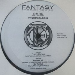 画像1: $ STEAMROCK&DIORA / STAR FIRE (ALCV-004) 未 EEE10+ 後程済