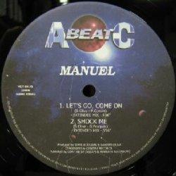 画像1: MANUEL / LET'S GO, COME ON ( VEJT-89173 ) EEE20