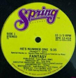 画像1: Fantasy / He's Number One YYY67-1373-3-3