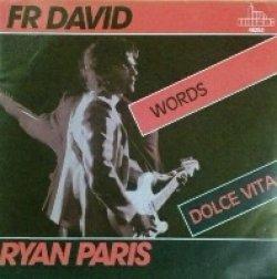 画像1: F.R. David / Words (Ryan Paris / Dolce Vita) 7inch 未