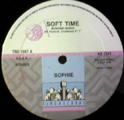 画像1: $$ SOPHIE / SOFT TIME (TRD 1097) EEE30+ 穴