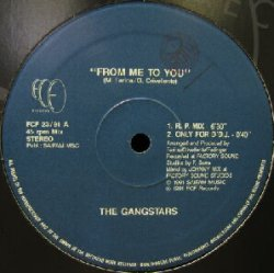 画像1: $$ THE GANGSTARS / FROM ME TO YOU (FCF 23) EEE1+