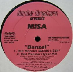 画像1: MISA / BANZAI (Red Monster Mix) YYY37-801-5-12