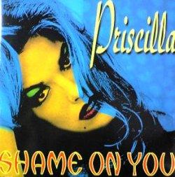 画像1: $ PRISCILLA / SHAME ON YOU (DELTA 1054) スレ EEE3F